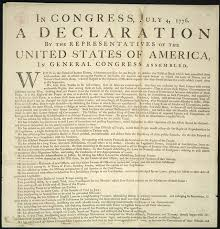 declaration of independence  right to institute new government     in congress