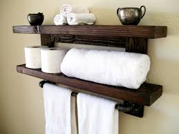 Bathroom Towel Rack Etsy - Bathroom wraps