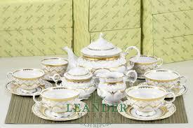 Чайный сервиз 6 персон 15 предметов <b>Соната</b>, <b>Изящное золото</b> ...