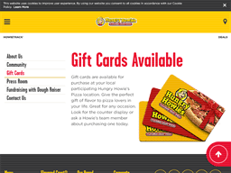 Hungry Howie's | Gift Card Balance Check | Balance Enquiry, Links ...