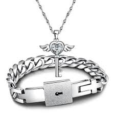 <b>New Fashion Couples</b> Jewelry sets Silver from Bling Bling Deals
