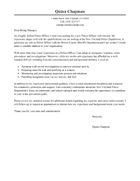 police officer cover letter sample for police officer cover letter police officer cover letter examples law enforcement security in police officer cover letter