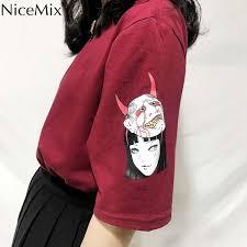 <b>NiceMix 2019</b> Summer Cotton T <b>Shirt Women</b> Harajuku Tumblr <b>Tops</b> ...