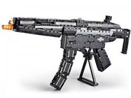 "<b>Конструктор CaDA deTech</b> ""<b>Пистолет-пулемет</b> MP5"" (617 деталей)"