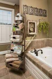 country bathroom colors: upcycled ladder more  upcycled ladder more
