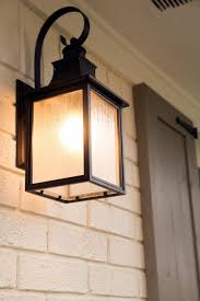 outdoor lights add curb appeal porch lighting sherwin williams dover white painted brick and sherwin