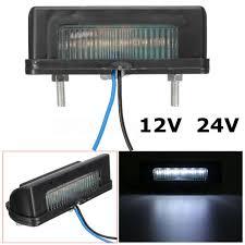 <b>2X 12V 6</b> LED REAR LICENSE NUMBER PLATE LIGHT LAMP ...