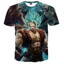 Dragon Ball Z Men's Summer T shirts 3D <b>Printing Super</b> Saiyan Kid ...