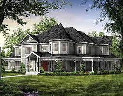 Magnificent Victorian Estate Home Plan   W   st Floor Master    Plan W