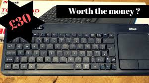 <b>Trust</b> Veza Wireless Keyboard review. Not very impressed. - YouTube