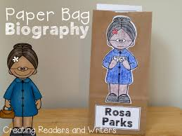 best ideas about facts about rosa parks rosa paper bag biography rosa parks a project for grades 1 2