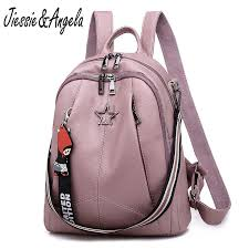 Jiessie&Angela <b>Fashion Backpack</b> For <b>Women</b> Black Vintage Large ...
