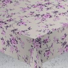 """<b>Скатерть</b> """"<b>ALBA</b>"""" <b>Вальс цветов</b>, 140х180 см, фиолетовый ..."""