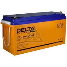 <b>Аккумулятор для ИБП Delta</b> DTM 12150 L - цена, фото - купить в ...