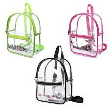 School Feminina Bag Children Clear <b>Transparent Backpack</b> ...
