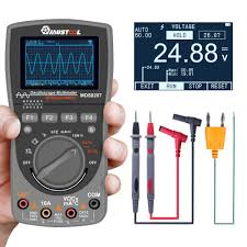 MUSTOOL <b>MDS8207 2 in 1</b> Intelligent Oscilloscope Newest Digital ...