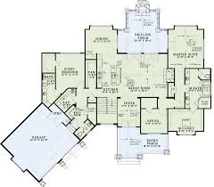 Ideas vaulted ceiling house plansThis walk out basement plan has plenty of rustic appeal and a large open floor