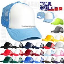Головной убор для мужчины Trucker Hat Foam Mesh Baseball Cap ...