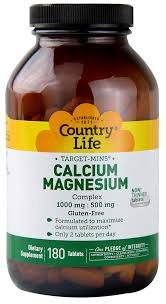 Country Life Calcium-Magnesium Complex 1000 mg ... - Food 4 Less