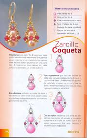 boucles d'oreilles coqueta (With images) | Beaded earrings tutorials ...