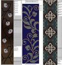 Мозаичное плетение орнамент