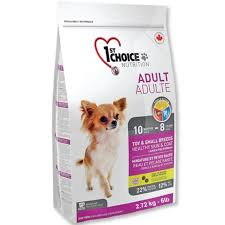 <b>1st Choice Adult</b> Toy and Small Breeds Sensitive and Coat <b>Dog</b> ...