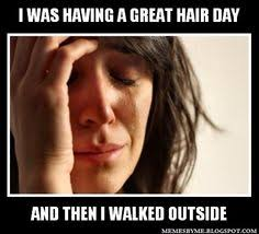 hair problems on Pinterest | Thick Hair Problems, Thick Hair and ... via Relatably.com
