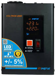 <b>Стабилизатор</b> напряжения однофазный <b>Энергия Voltron 2000</b> (5 ...