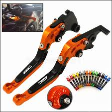 CK CATTLE KING <b>Motorcycle CNC Adjustable Brakes</b> Clutch Lever ...