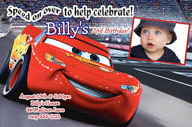 disney cars birthday invitation jb14 disney cars birthday invitation
