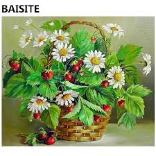 BAISITE <b>Frameless DIY Oil</b> Painting Pictures By Numbers On ...