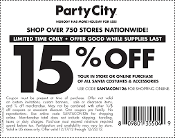 party city santacon printable coupon find stores party city printable coupon