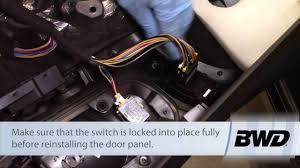 Remote <b>Mirror Switch</b> Installation - Dodge, Chrysler, Plymouth 2.7L ...