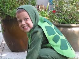 <b>Turtle costume</b>. Green hooded sweashirt and sweat pants. Felt shell ...