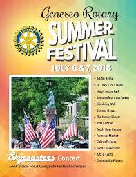 Geneseo Rotary 2018 Summer Festival