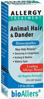 bioAllers Animal Hair & Dander Allergy Treatment ... - Amazon.com