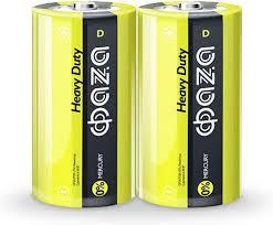 <b>Батарейка ФАZA</b> Heavy Duty, светло-зеленый, D, 2 шт