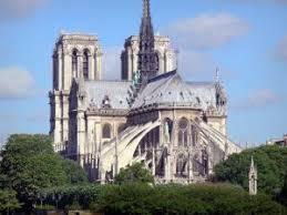 notre dame de paris cathedral view of the apse of the gothic cathedral cathacdrale de notre dame