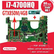 <b>Send board</b>+<b>I7 4700HQ GTX850M 4GB</b> N550JK Laptop ...