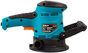 Эксцентриковая <b>шлифовальная машина Bort BES-450</b> (Цвет: Blue)