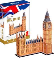 <b>CubicFun</b> 3D пазл Игрушка <b>Биг Бен</b> (Великобритания) купить в ...