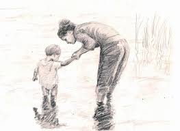 Image result for family- mother child SKETCH