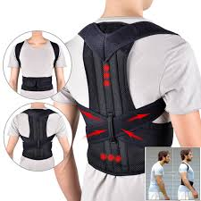 2019 <b>Back Waist</b> Posture Corrector Adjustable <b>Adult</b> Correction <b>Belt</b> ...