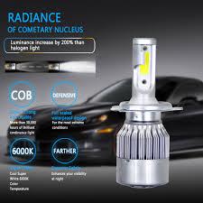 Car External & Indicator Light Bulbs & LEDs <b>C6 Car LED Headlight</b> ...
