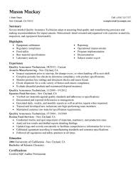 food industry resume resume for quality control in food industry food industry resume resume objective for food service industry resume for fast food industry sample resume