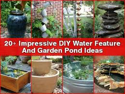 diy patio pond:  diy water feature ponds x