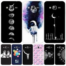 Space Love Moon Astronaut cover phone case for Samsung Galaxy ...