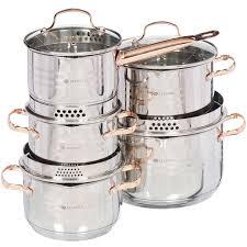 Набор посуды из нержавеющей стали Daniks Токио SD-A87-10 ...