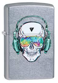 <b>Зажигалка ZIPPO Skull Headphone</b> Design 29855 . Купить ...