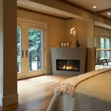 Small Gas Fireplaces For Bedrooms Decorate Corner Fireplace Home Photo